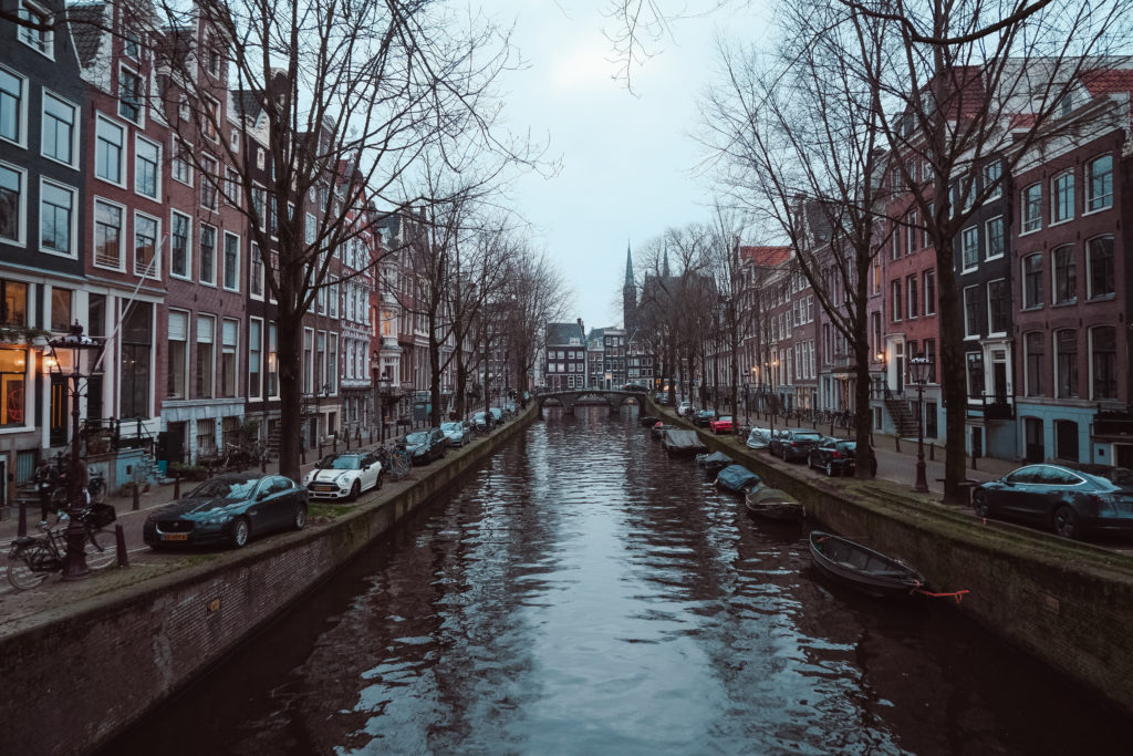 giulia hepburn amsterdam canal view romantic street photography