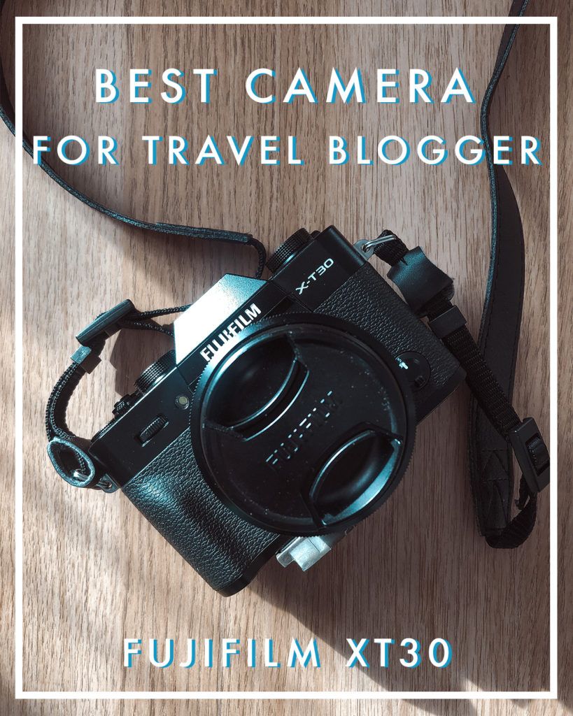 giulia hepburn best camera for travel blogger fujifilm xt30